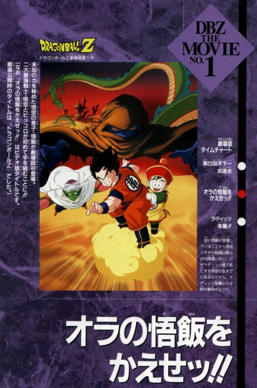 Dragon Ball Z Movies Mp3 So everything about him does not matter towards the actual story of dragon ball. my animei site